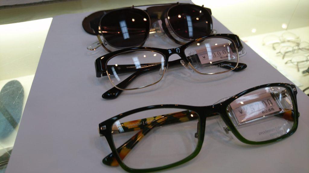 新作眼鏡入荷(プロデザイン)