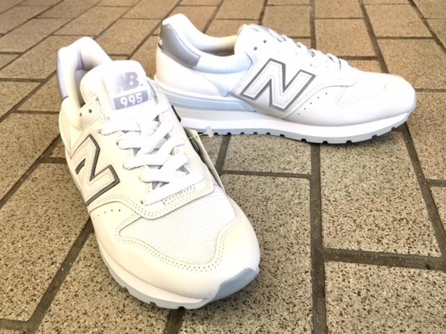 ニューバランス Made in U.S.A 'M995' WHITE 入荷!