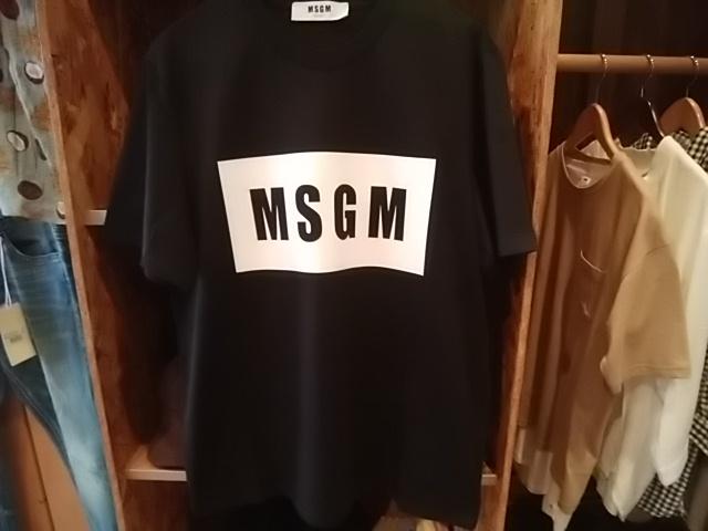 MSGM、二回目の追加もブラックSサイズで終わり!