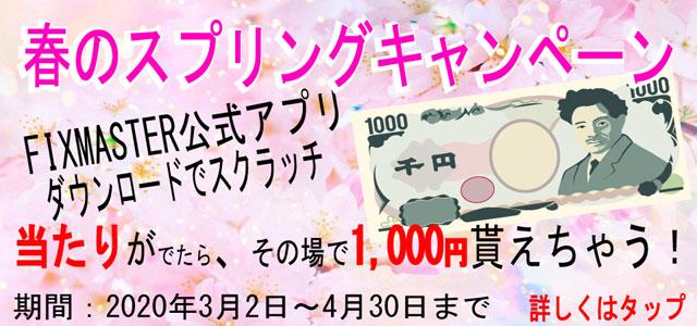 春のスプリングキャンペーン!!