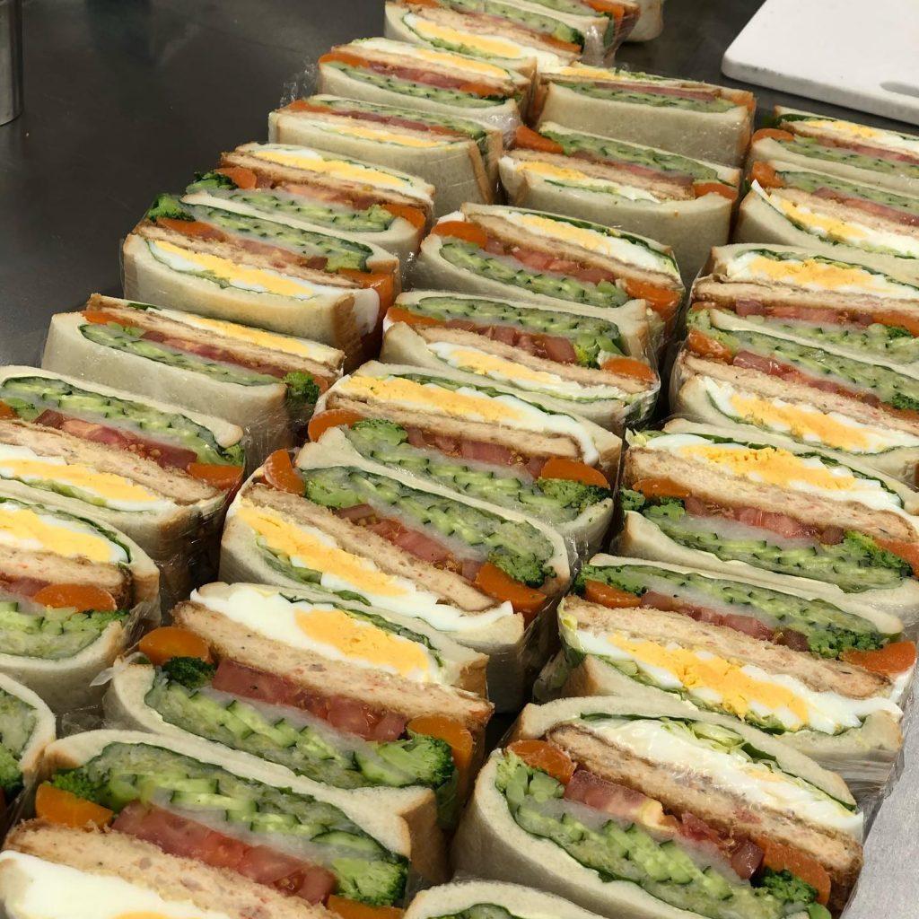 お隣さんにサンドイッチとフランス総菜のテイクアウトの[A.B.C]オープン🥖