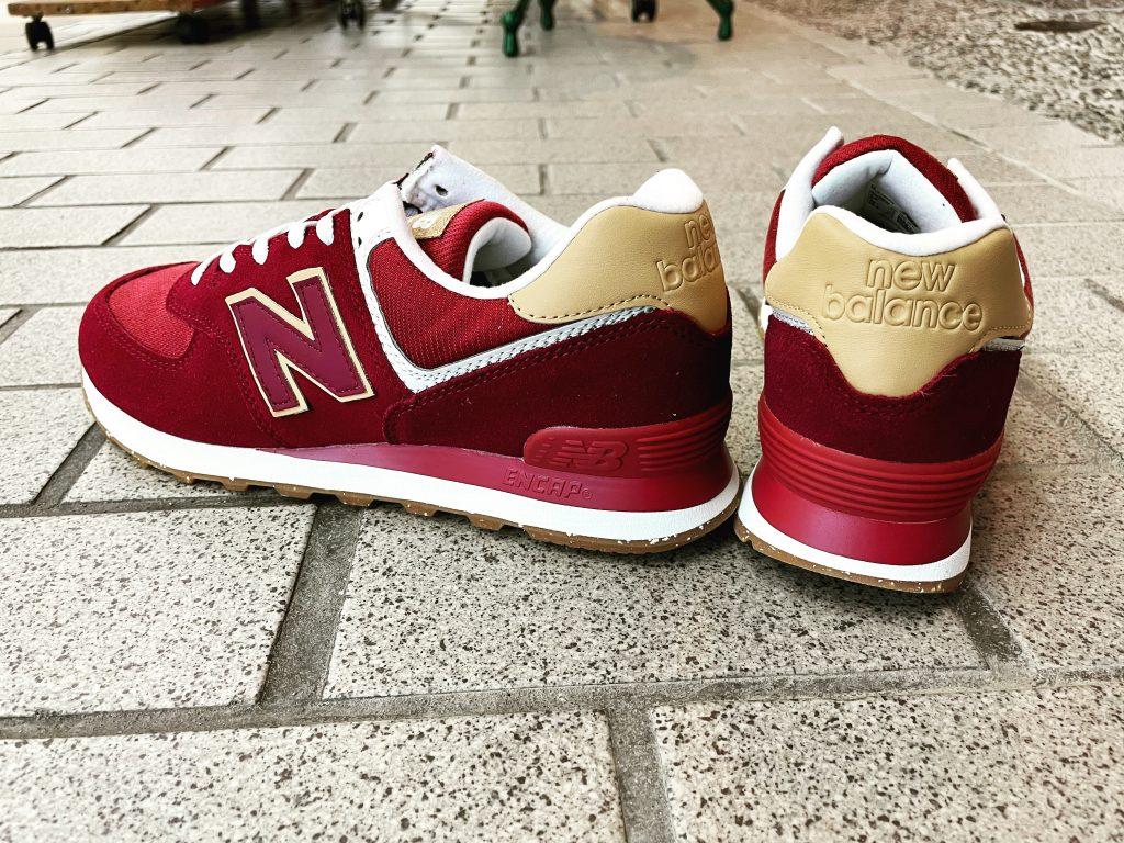 ニューバランス 574 〝サスティナブルパック〟RED